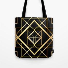 1920 Art deco Gatsby Style Tote Bag