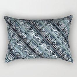 Encrypted Rectangular Pillow