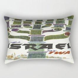 Vintage poster - Israel Rectangular Pillow