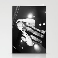 panic at the disco Stationery Cards featuring Panic At The Disco - Brendon Urie by Lights & Sounds Photography