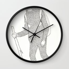 Hitch Hiking Wall Clock