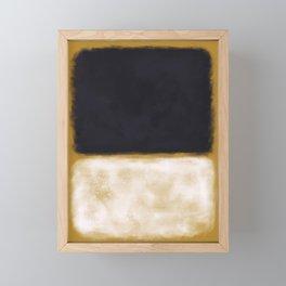Rothko Inspired #10 Framed Mini Art Print
