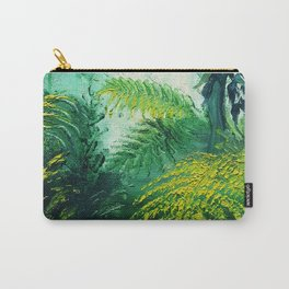 Rainforest Lights and Shadows Carry-All Pouch