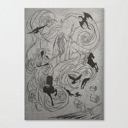 Oskoreia (the wild hunt) 2 Canvas Print