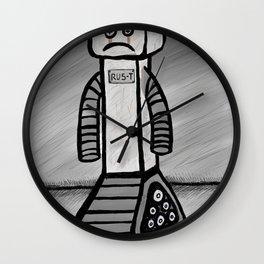 RU5-T the Robot Wall Clock