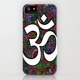 ॐFunkyॐ iPhone Case