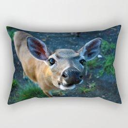 Key Deer Rectangular Pillow
