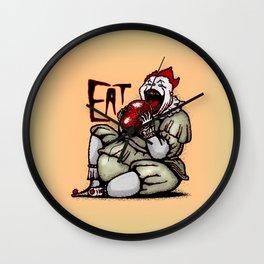 Eat! Wall Clock