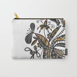 Blooming Doodles Carry-All Pouch