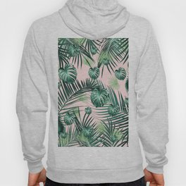 Tropical Jungle Leaves Garden #2 #tropical #decor #art #society6 Hoody