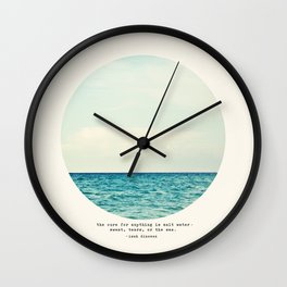 Salt Water Cure Wall Clock