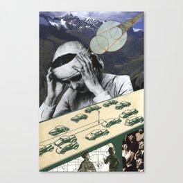 Sometimes It's One Big Headache Canvas Print