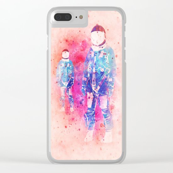 The Dimension Clear iPhone Case
