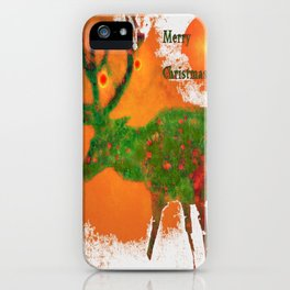 Merry Christmas 3 iPhone Case