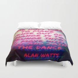 Plunge into Dance Duvet Cover