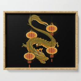 Dragon Fly Serving Tray