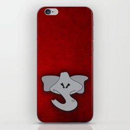 Enraged Elephant iPhone Skin