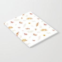 Watercolor autumn Notebook