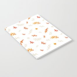 Watercolor autumn Notebook