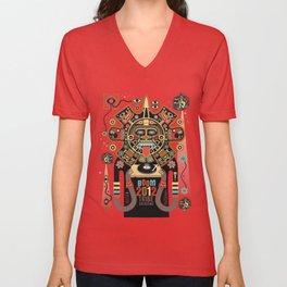 Mayas Spirit - Boom 2012 Unisex V-Neck