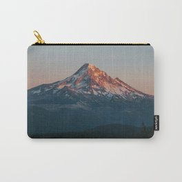 Mount Hood Sunset Carry-All Pouch
