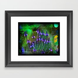 Flowers In A World Of Colors  Framed Art Print