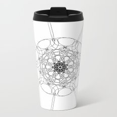 love mandala number 1 Metal Travel Mug