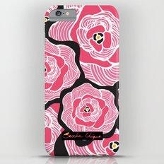 Signature Pink and Black iPhone 6s Plus Slim Case
