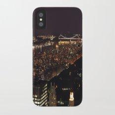 NYC at Night iPhone X Slim Case