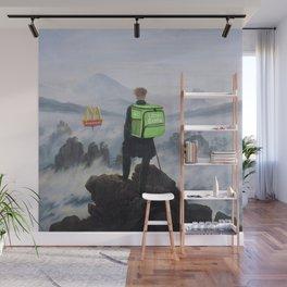 Wanderer above the Sea of Fog - Pop Edi Wall Mural