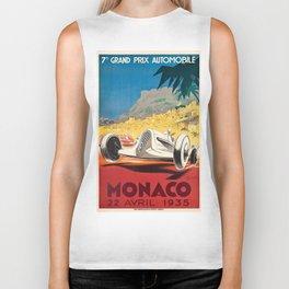 Monaco Grand Prix 1935 Biker Tank
