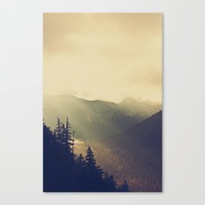 Sunrise over the Mountians Canvas Print