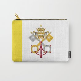 Vatican City Holy See flag emblem Carry-All Pouch