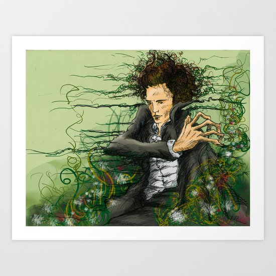 The green thumb curse I Art Print