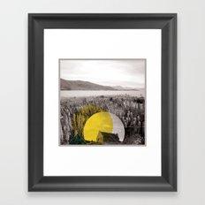 Sojourn series - Lake Tekapo Framed Art Print