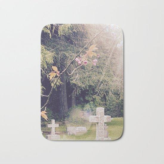 Cemetery, St. John's Anglican Church, Cobble Hill B.C. Bath Mat