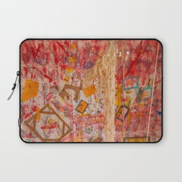 The Red Wall Laptop Sleeve