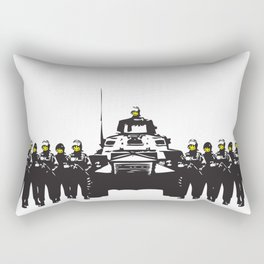 Banksy Have a nice day Rectangular Pillow
