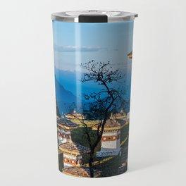 Bhutan: Sunset on Dochula Pass Travel Mug
