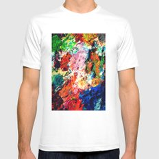 Palette Mens Fitted Tee White SMALL
