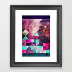 lyyk fyrwyrd Framed Art Print