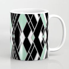 Art Deco Zoom Mint Mug