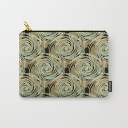 Abstract pattern , spiral. Carry-All Pouch