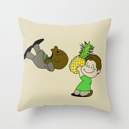 Psych! Throw Pillow