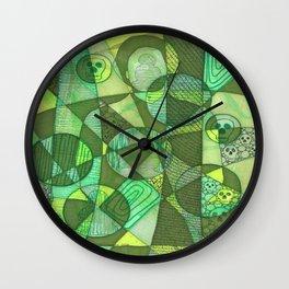 Meditator #16 Wall Clock