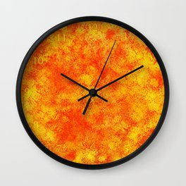 Hollowfield Two Months  Wall Clock