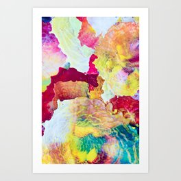 TO DREAM IN COLOR Art Print