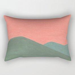 Georgia Sunset - Turn pink  Rectangular Pillow