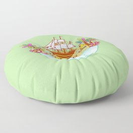 Ocean Adventure Ramen Floor Pillow