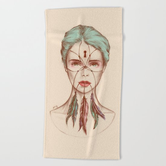 Dreamkeeper Beach Towel